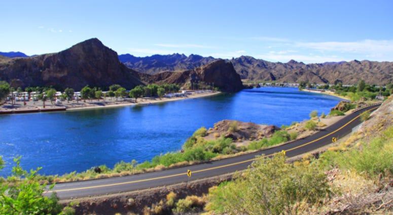 Colorado River at Lake Havasu