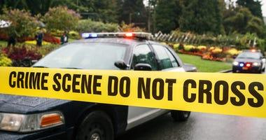 stock crime scene