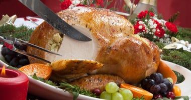 It's turkey dinner time