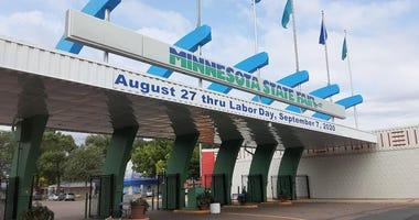 Gate at state fair 2020