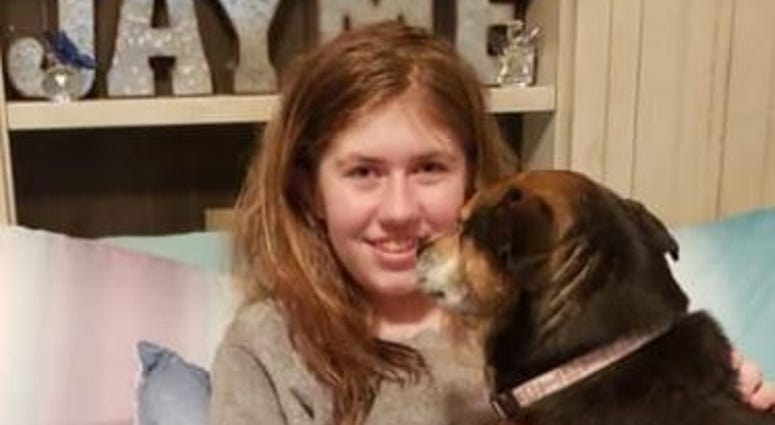 Jayme Closs is back home