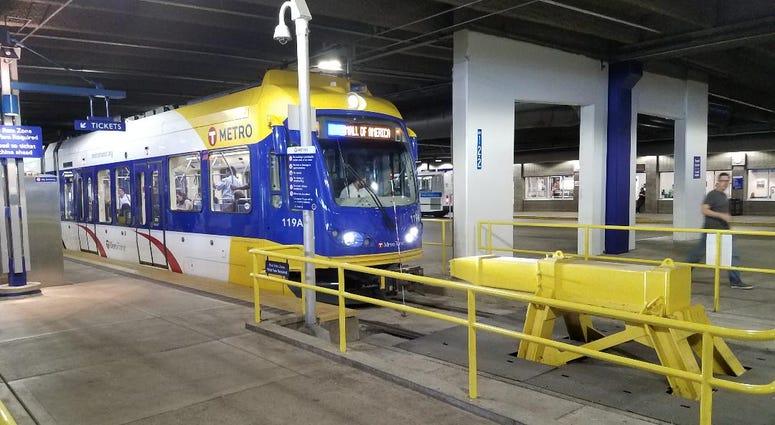 Transit station at MOA