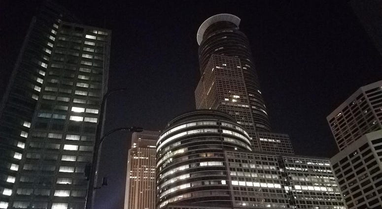 Night Minneapolis
