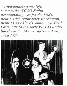 1925 State Fair WCCO Booth