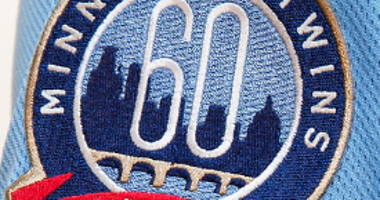 Twins 60th season patch