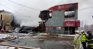 Bar fire in St. Cloud