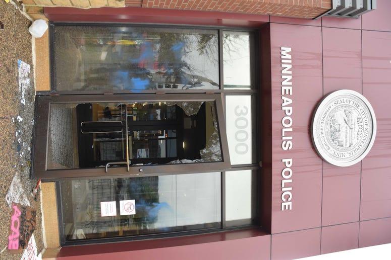 MPD 3rd precinct door