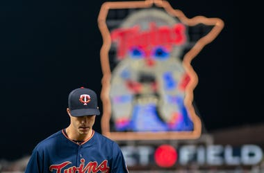 Taylor Rogers at Target Field