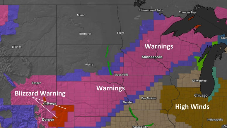 Latest Watches and Warnings