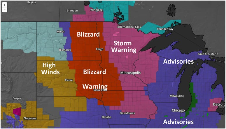 Watches and Warnings, Snow Storm