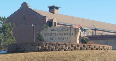 Sign at Stillwater state prison