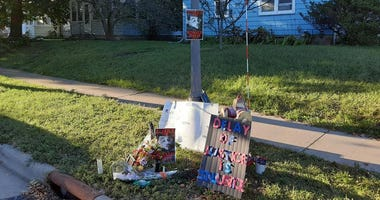 Site of officer involved shooting of Ronald Davis