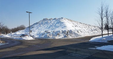 Really big snowpile