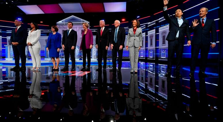11-20-19 Democrat Presidential Debate