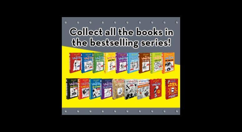 Diary of a Wimpy Kid Compete Collection