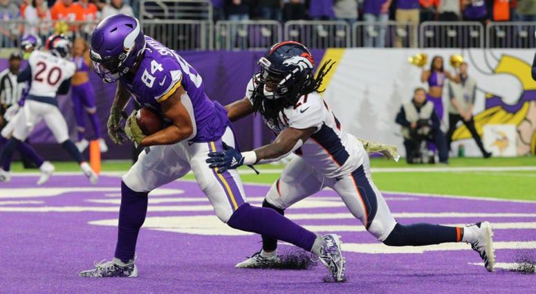 Touchdown catch by Davontae Harris