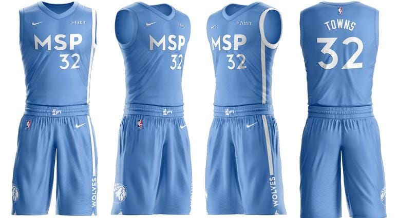 Timberwolves Debut New City Edition Uniforms Wcco