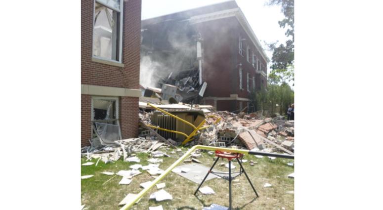 Minnehaha Academy explosion