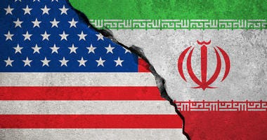 U.S. and Iran Flags