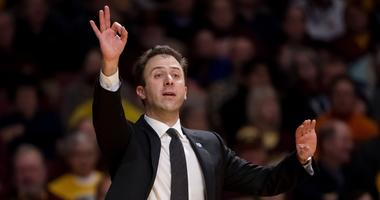 Gopher coach Richard Pitino