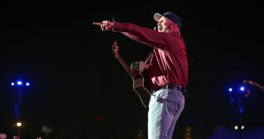 Country music star Garth Brooks