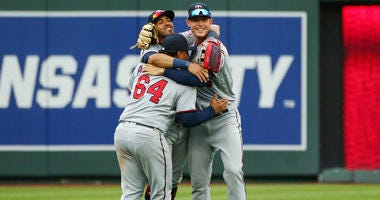 Rosario delivers as Twins get two-game sweep of Royals