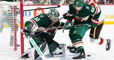 A shutout win for Devan Dubnyk