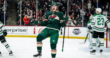 A goal by Ryan Donato for the Wild