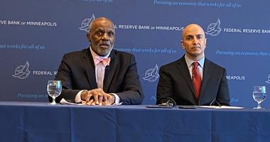 Justice Alan Page and Neel Kashkari