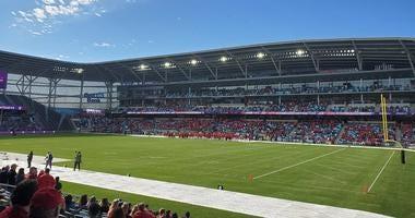 Allianz Field football
