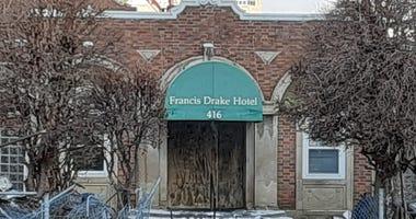 Entrance of Drake Hotel