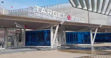 The new gate 34 at Target Field