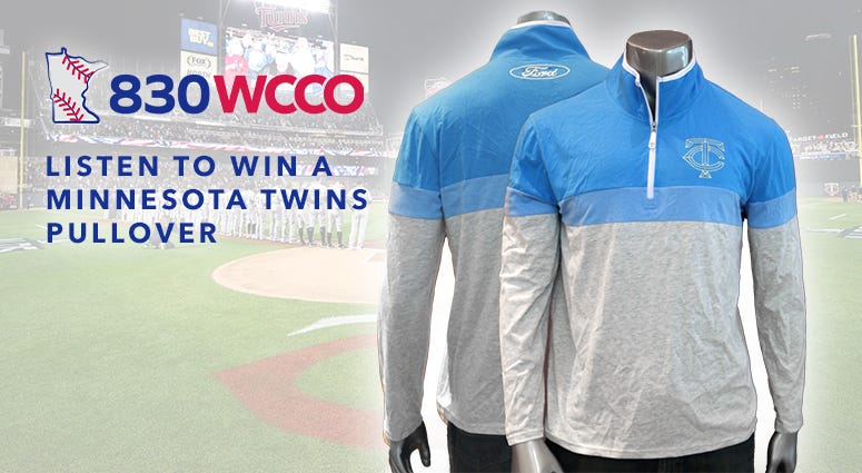 Win a Minnesota Twins opening day pullover