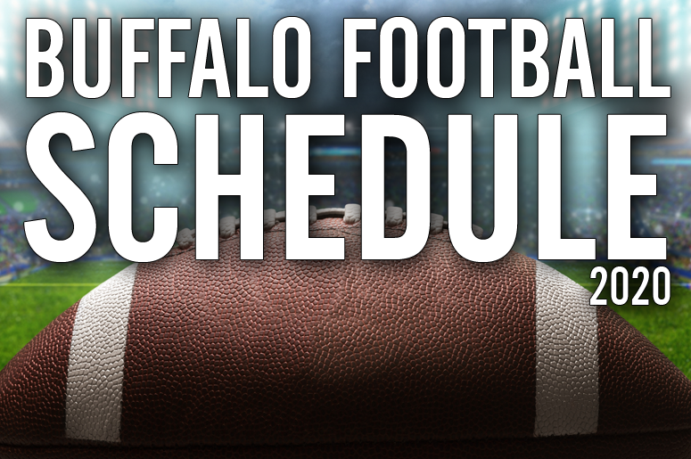 buffalo football schedule 2020 image