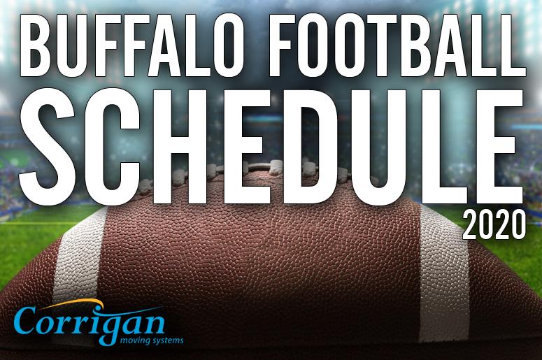 buffalo fcootball schedule sponsor