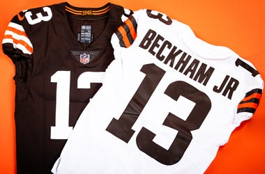 The new Cleveland Browns uniforms look much like previous uniforms worn in the 50's, 60's, 80's and the expansion era prior to the change in 2015.
