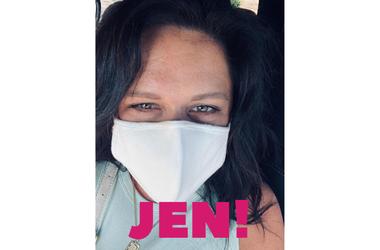 Jen mask game