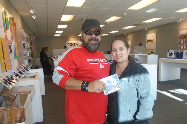 Tim at Sprint in South Euclid