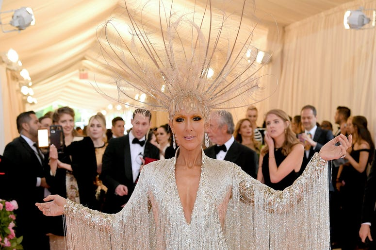 Celine Dion attends The 2019 Met Gala