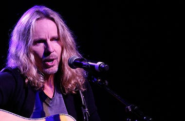 NASHVILLE, TN - OCTOBER 14: Tommy Shaw of Styx performs at Inspire Nashville 2: A Celebration for Possibilities, Inc. at Marathon Music Works on October 14, 2014 in Nashville, Tennessee. (Photo by Terry Wyatt/Getty Images for Inspire Nashville)