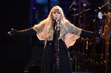 Stevie Nicks of music group Fleetwood Mac