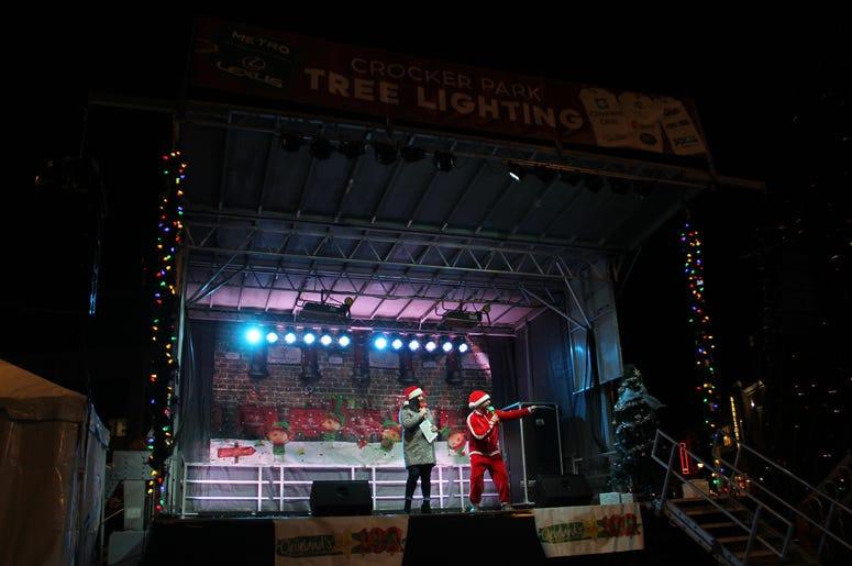 2019 Crocker Park tree lighting