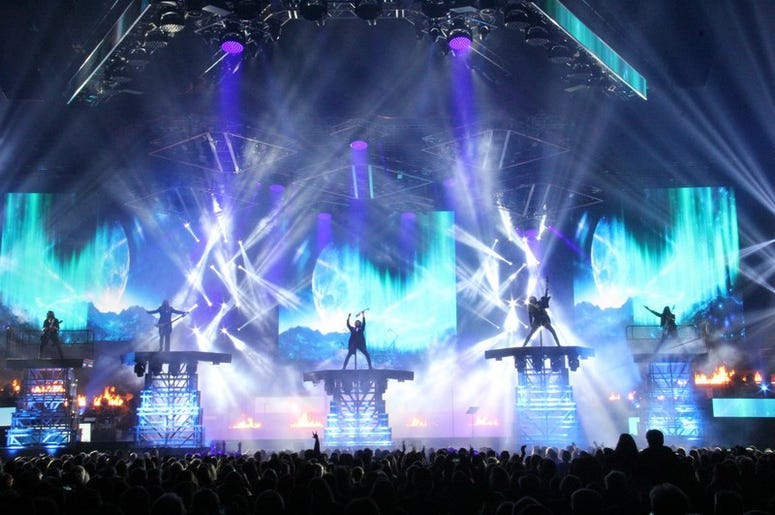 Trans-Siberian Orchestra at Quicken Loans Arena 2017