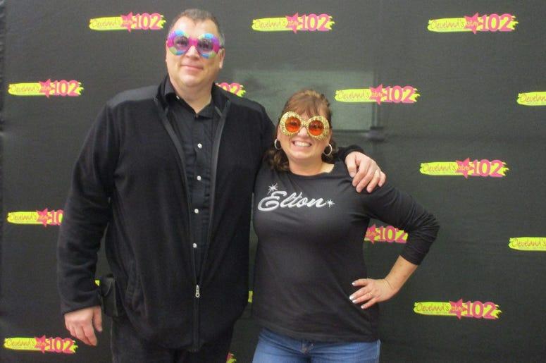 Star 102 at Elton John