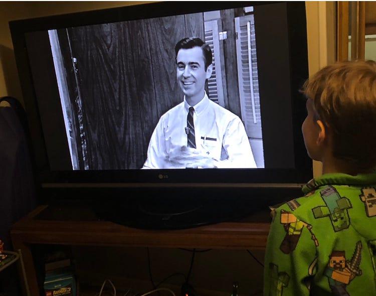 LDG Child Watching Mr. Rogers