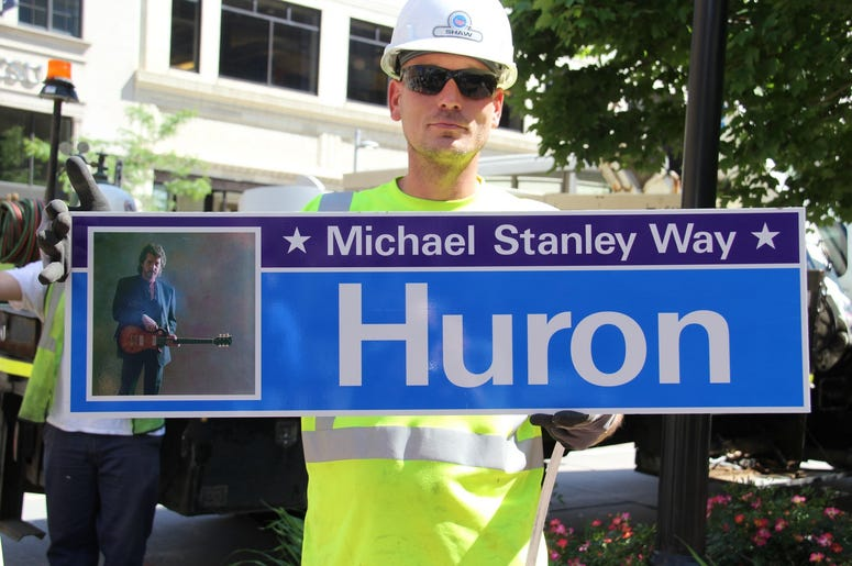 Michael Stanley Way Dedication