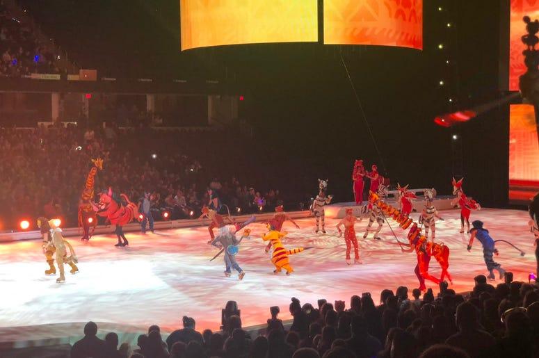 Tim Richards 2019 Disney on Ice