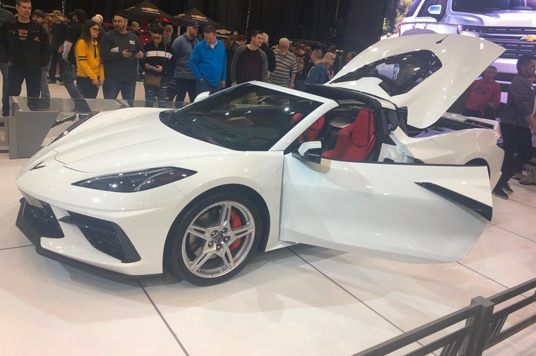 tim at auto show