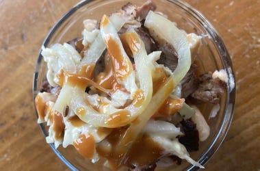 pulled pork sundae