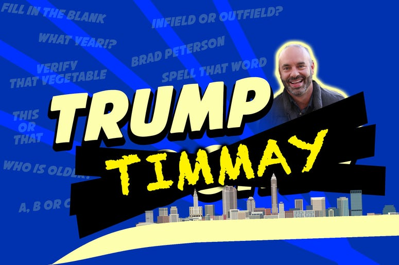 trump timmay blue and gold logo